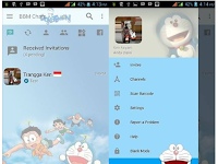 BBM MOD Doraemon Apk v3.2.3.11 Full Picture Terbaru 2017 Free Download