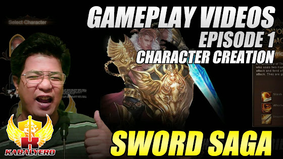 Sword Saga Gameplay Video, Episode 1, Character Creation, Uploaded