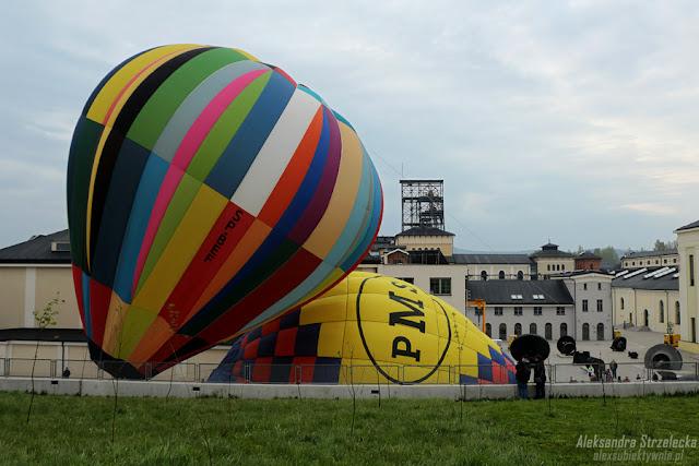 Balony w Starej Kopalni, Wałbrzych - Festiwal balonów, Balonowa Fiesta 2016