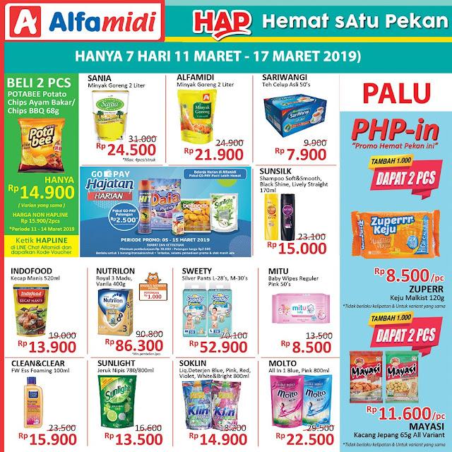 #Alfamidi - #Promo Katalog Hemat Satu Pekan Periode 11 - 17 Maret 2019