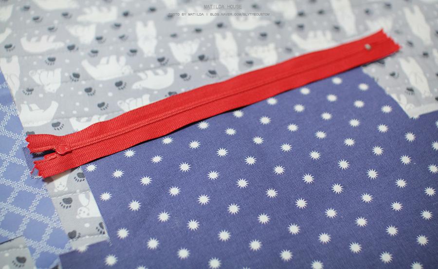 How to make zippered pencil case DIY step-by-step tutorial instructions with Pattern.  Инструкция по шитью пенала для карандашей с выкройкой.
