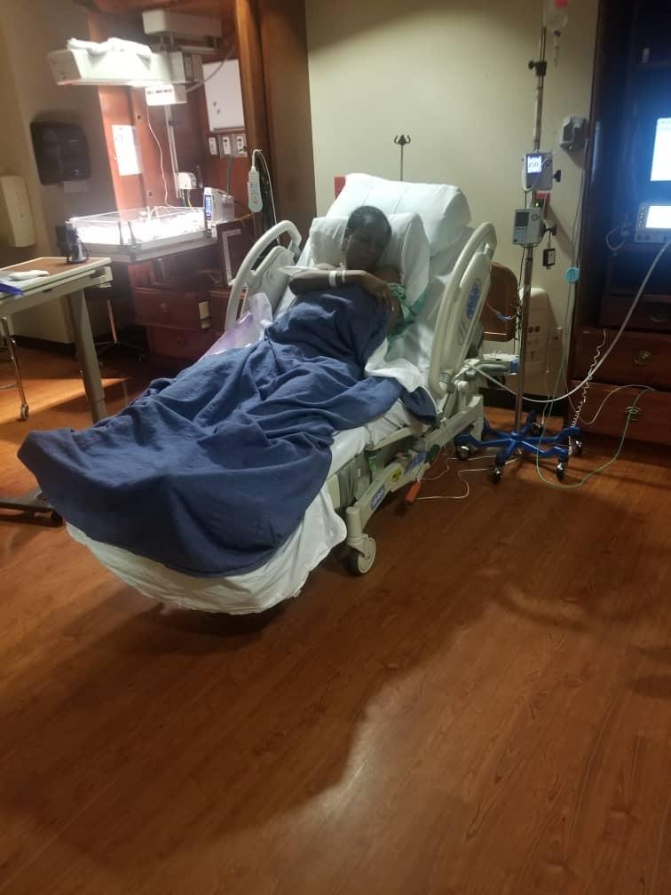 Linda Ikeji welcomes her newborn child, Baby J in Atlanta (Photo)
