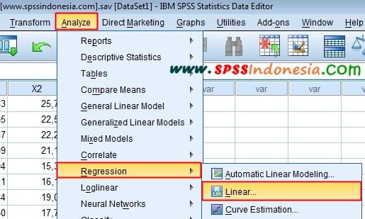 Tutorial Uji Autokorelasi dengan Durbin Watson Menggunakan SPSS Lengkap