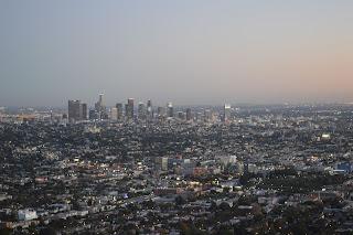 Downtown LA desde el observatorio Griffith