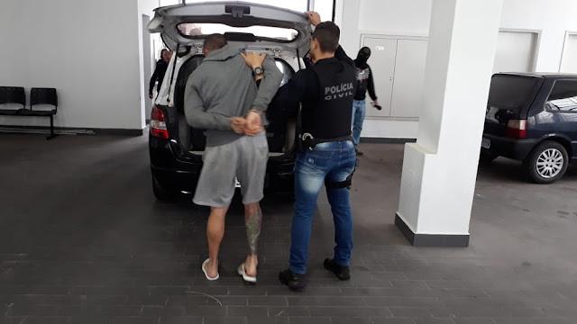 Suspeito de quadrilha de tráfico foi detido na casa de uma tia em Limeira (Foto: Wagner Morente/GCM)