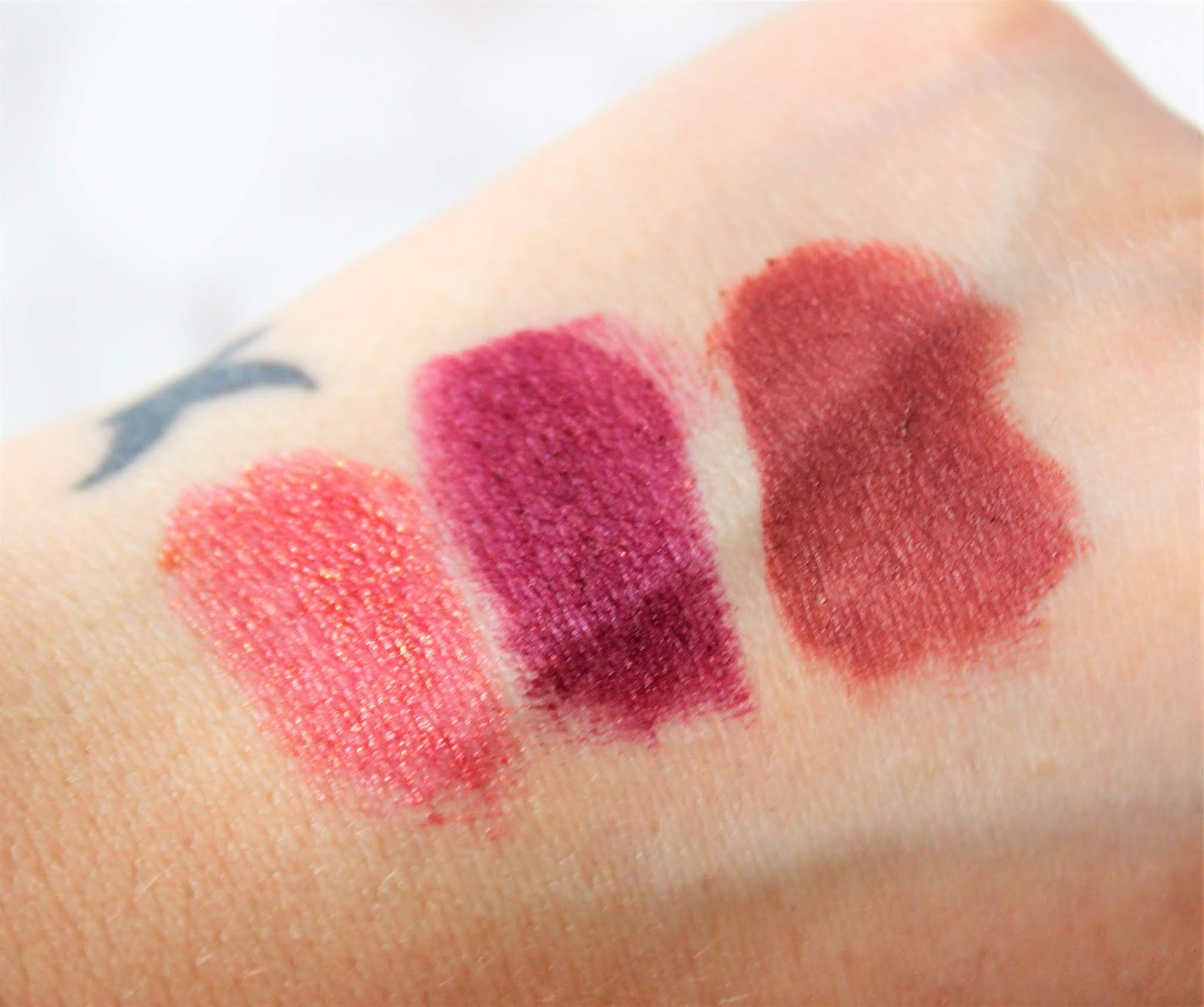 Born To Run Lipstick Swatches