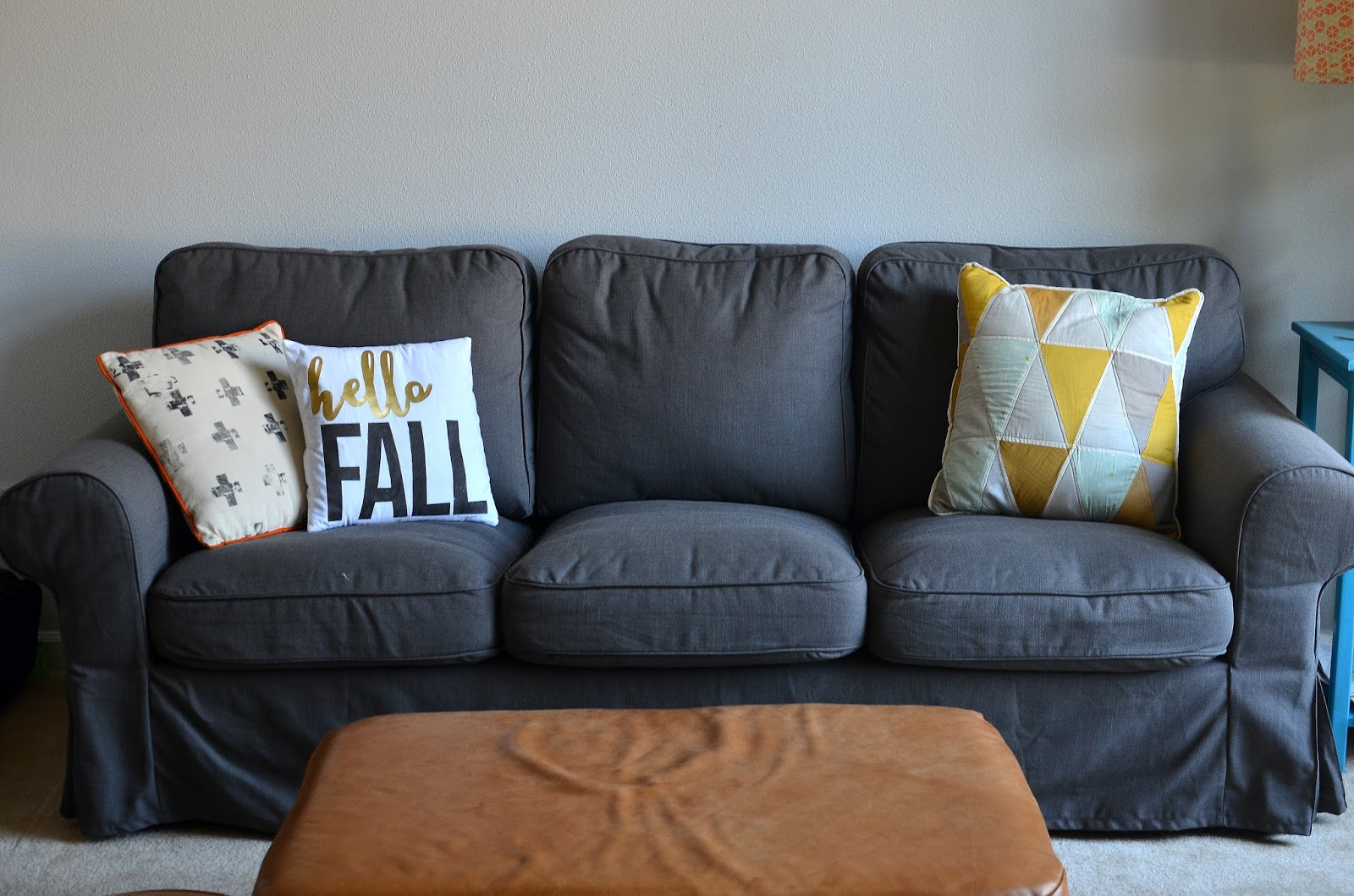 Hello fall pillow and double sided fall and Christmas pillows