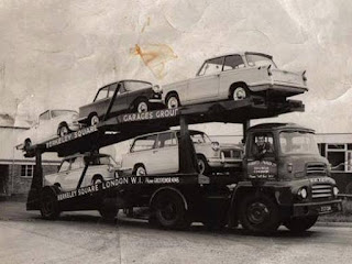 Berkerley Square Garages car delivery truck