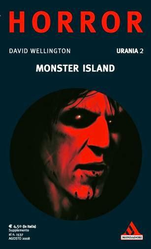 Copertina italiana Monster Island