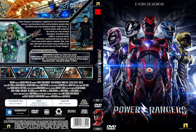 Capa DVD Power Rangers [Exclusiva]