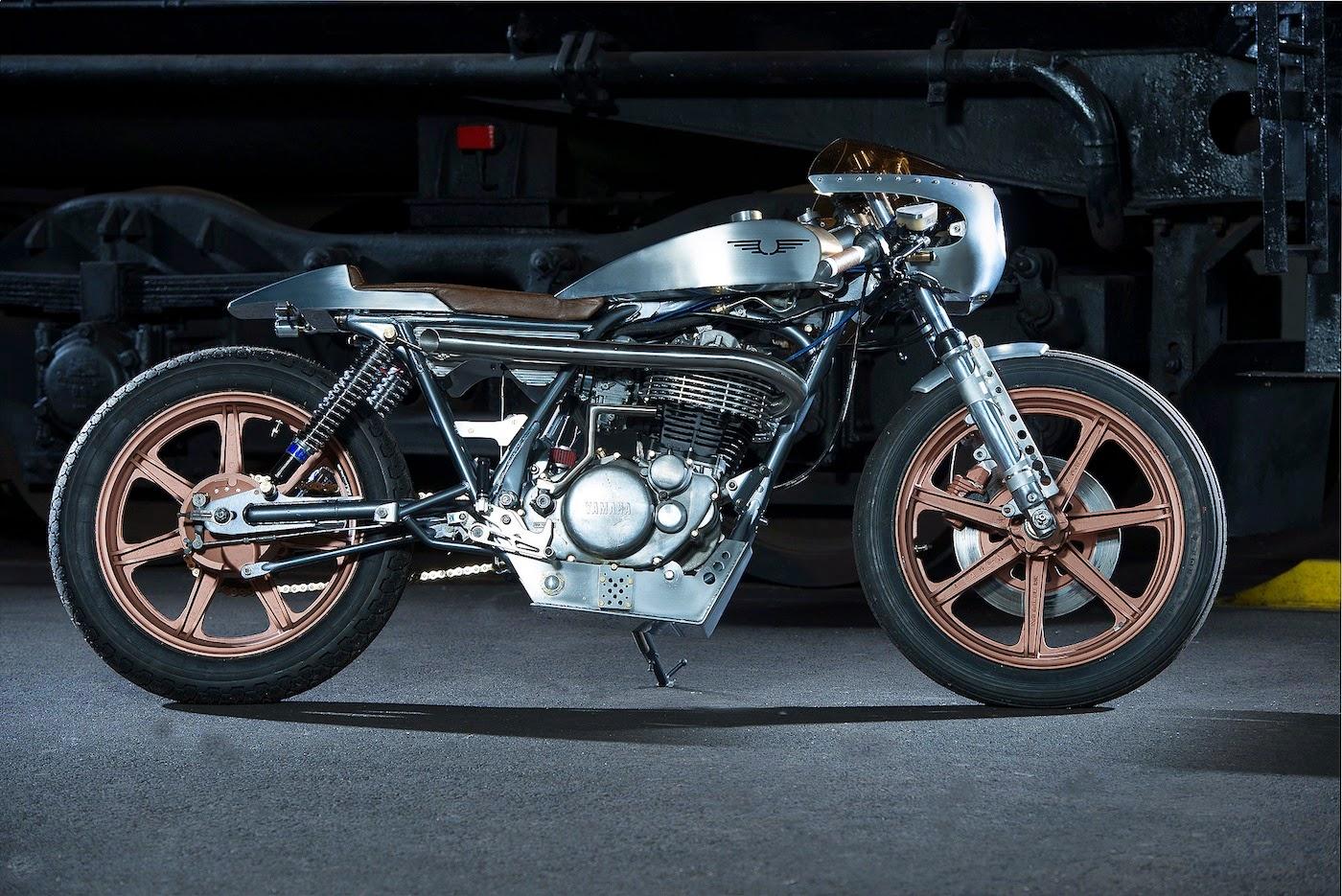 Yamaha XS750 Cafe Racer - BikeBound