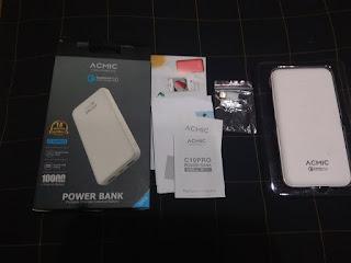 4 Membandingkan Powerbank Acmic C10 Pro Dengan Xiaomi Mi Powerbank 2 10000 mAh