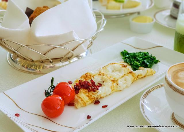 burj al arab egg white omelette