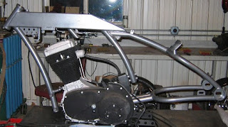 buell blast boardtracker frame
