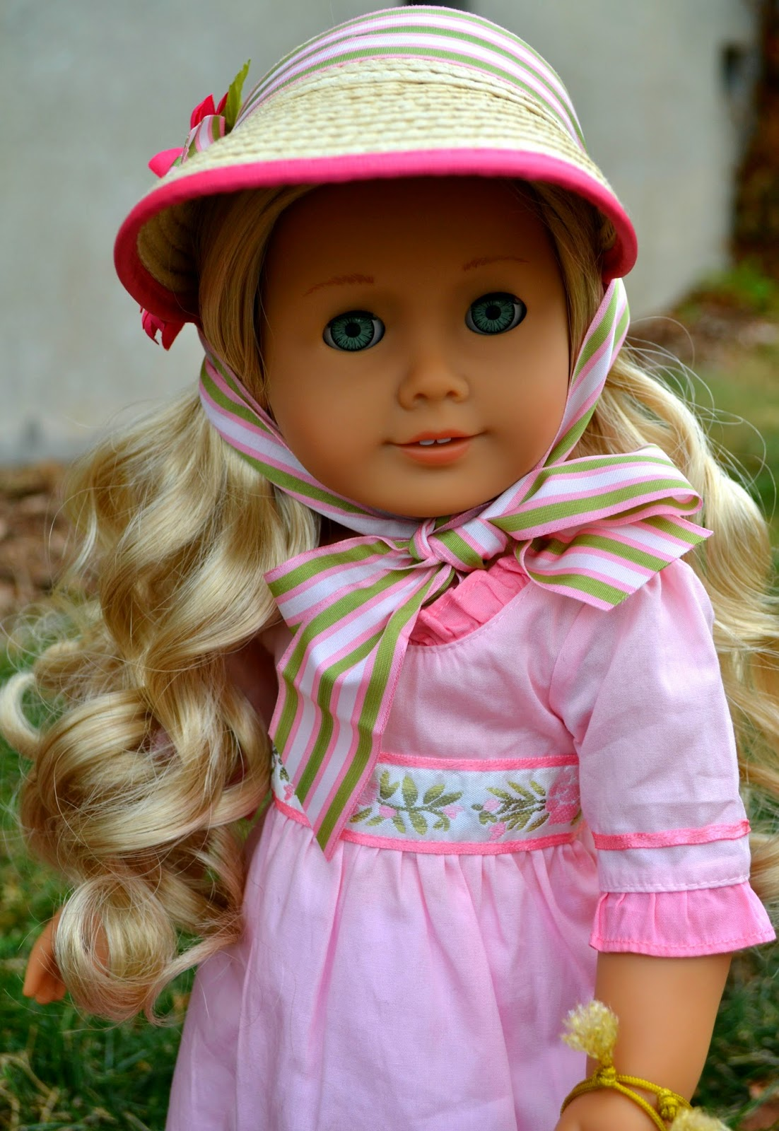 Caroline S 37 Piece Capsule Wardrobe Creative Process: The Doll Grotto: American Girl: Caroline Abbott Doll And