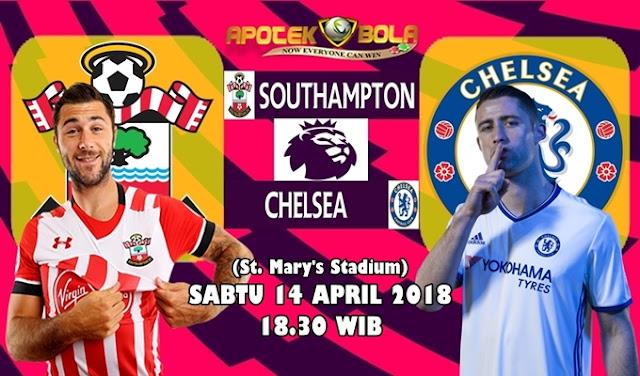 Prediksi Southampton vs Chelsea 14 April 2018