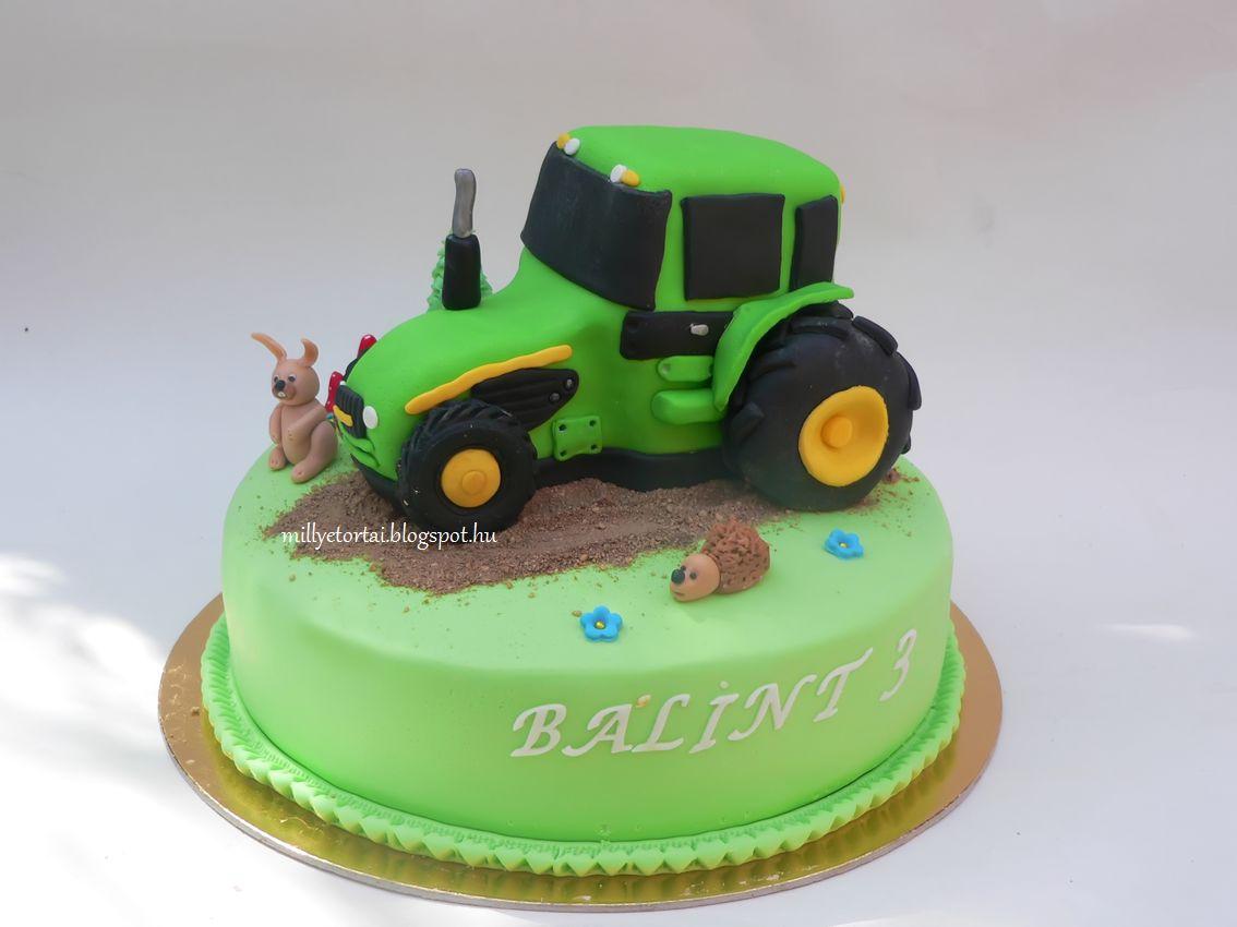 traktoros szülinapi képek Millye finomságai: Traktor torta traktoros szülinapi képek
