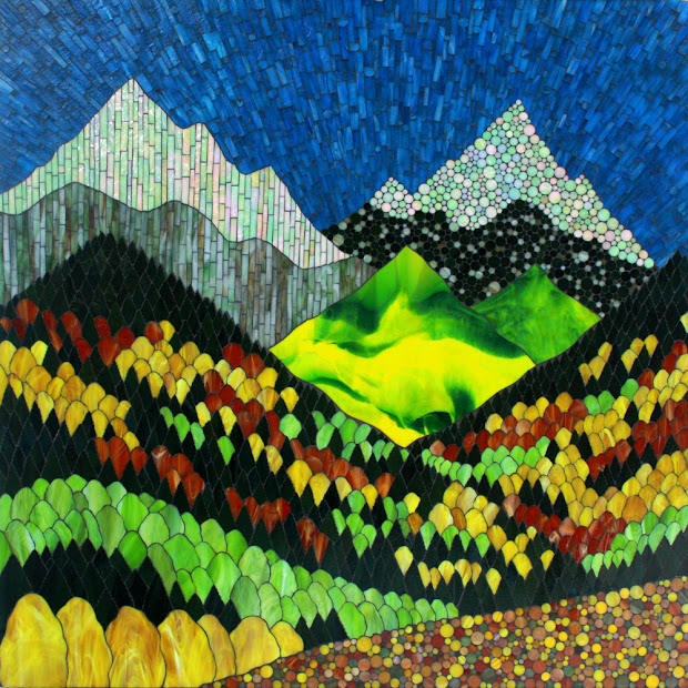 Kasia Mosaics Impressions Of Colorado Fall