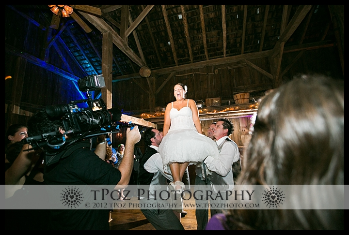 Duke Farm Wedding Reception Horah