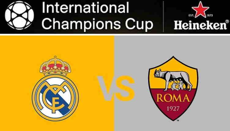 Hasil Real Madrid vs AS Roma Skor Akhir 2-1 [ICC 2018]