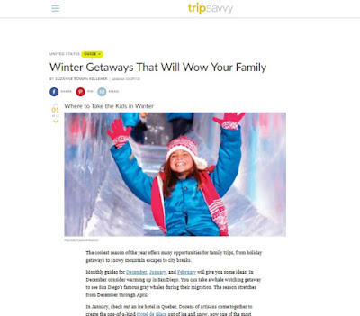 Tripsavvy: Winter Getaways That Will Wow Your Family