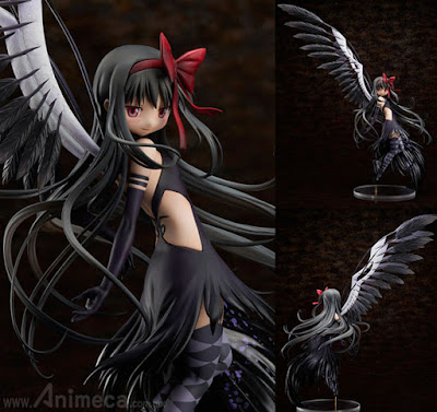 Figura Devil Homura Limited Edition The Beginning Story/The Everlasting Puella Magi Madoka Magica the Movie front view