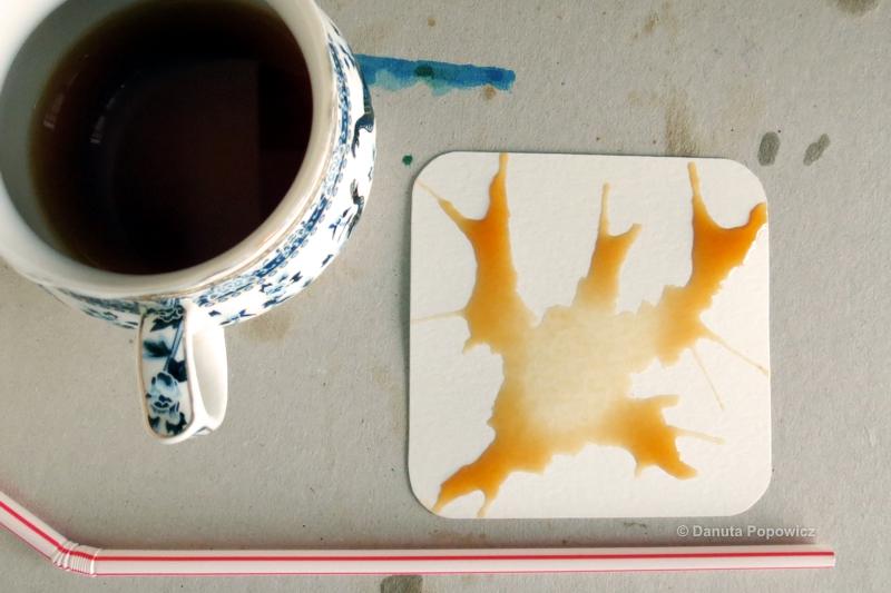 metody barwienia kartoników do Zentangle
