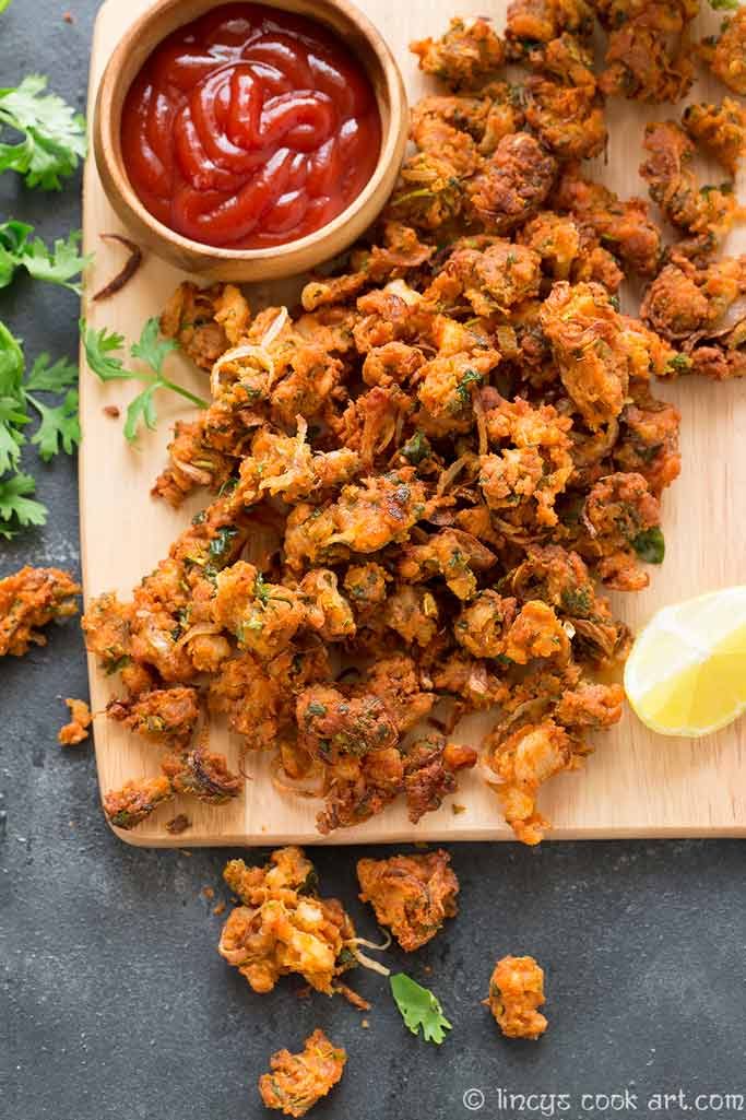 how to make chicken pakoras