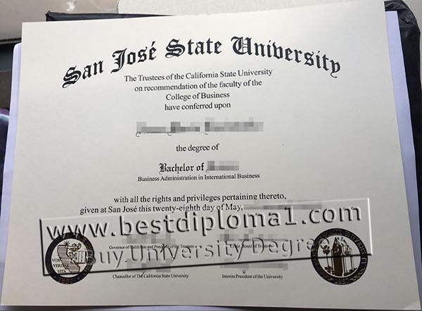 buy a SJSU diploma