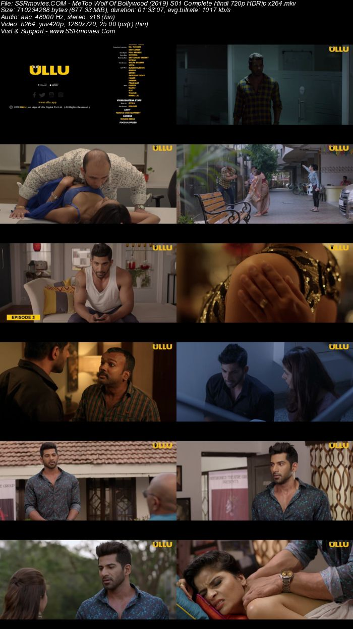 MeToo Wolf Of Bollywood (2019) S01 Complete Hindi 720p HDRip 650MB Download