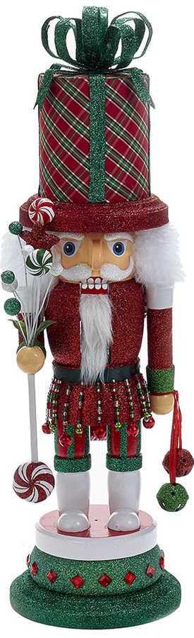 Wayfair Kurt Adler Present Hat Nutcracker
