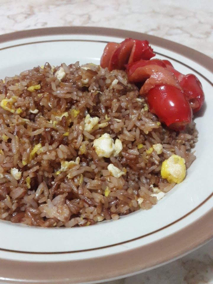 8 manfaat Nasi Merah