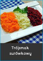 Trójsmak surówkowy surówka sałatka z marchewki z białej kapusty z buraczków prosta mechanik w kuchni