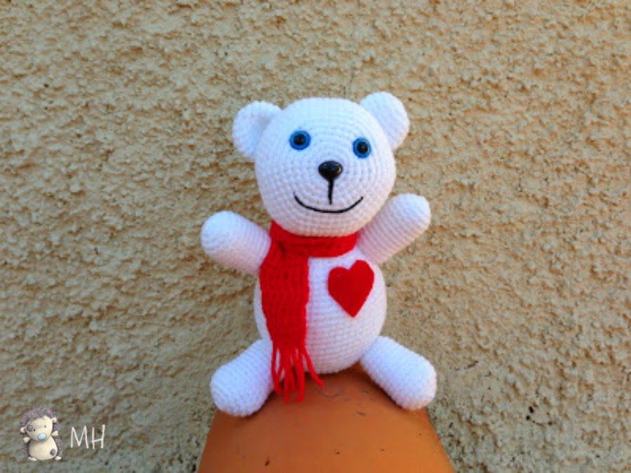 Osito Teddy amigurumi