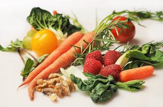 sayur dan buah mengandung serat