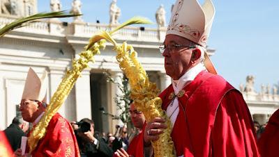 imagem do Papa Francisco com Ramo