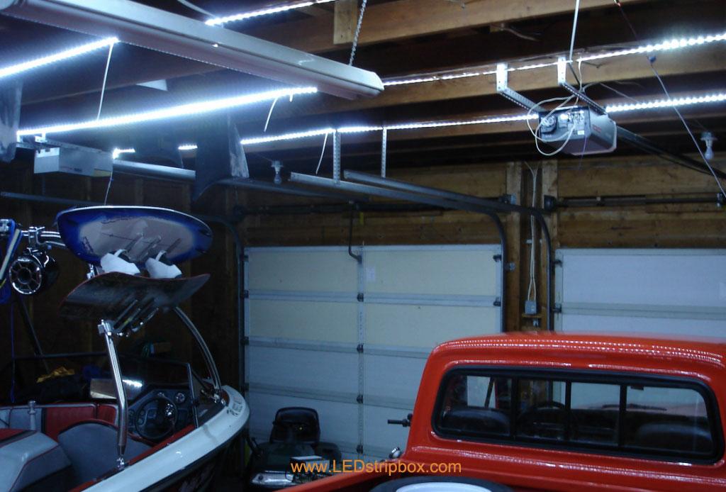 Ledstripbox Garage With Led Strip Lights, Strip Lights For Garage