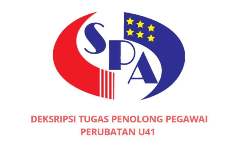 Gaji Kelayakan Tugas Penolong Pegawai Perubatan U41 Spa