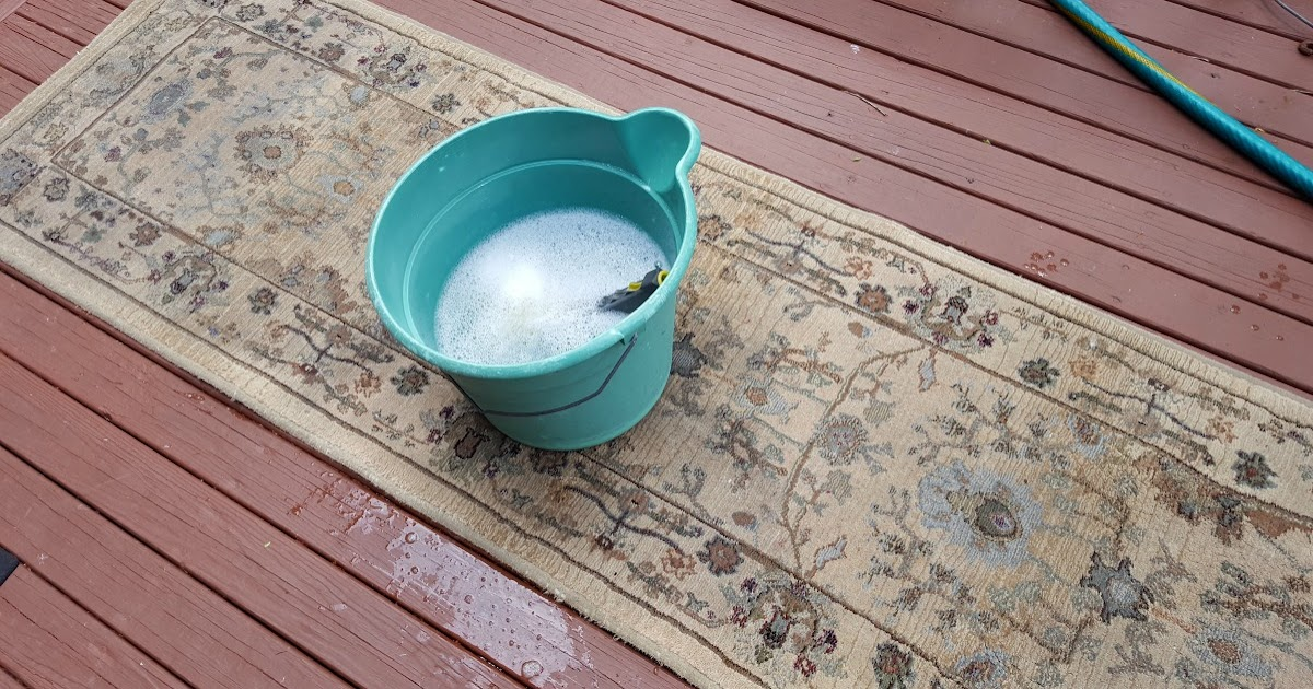 Diy Cheap And Effective Rug Cleaning Just One Donna
