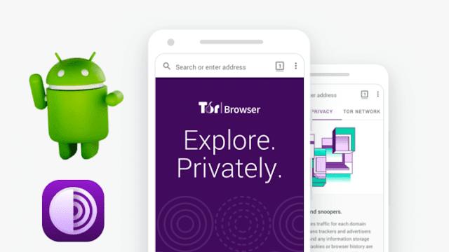 و أخيرًا متصفح Tor Browser اصبح متاح لمستخدمي الأندرويد يمكنك تحميله من متجر جوجل بلاي