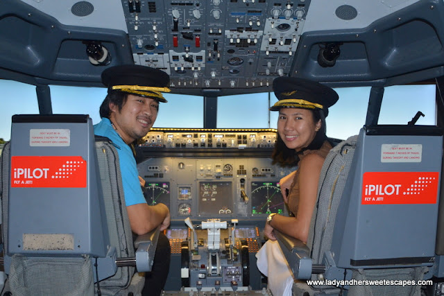 Pilots for two hours at iPilot