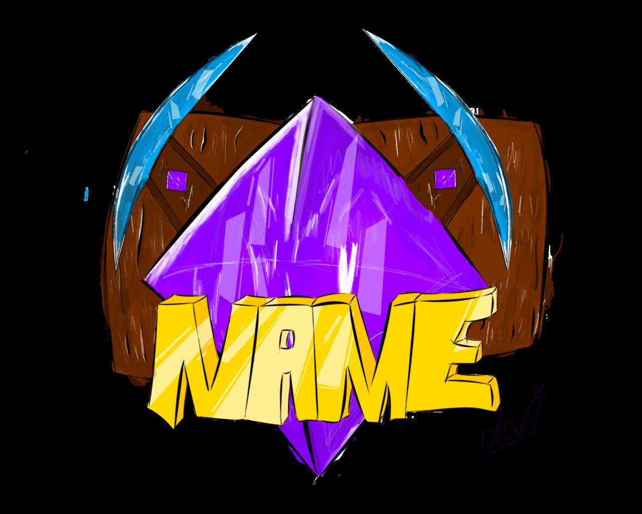 minecraft server logo template wwwpixsharkcom images