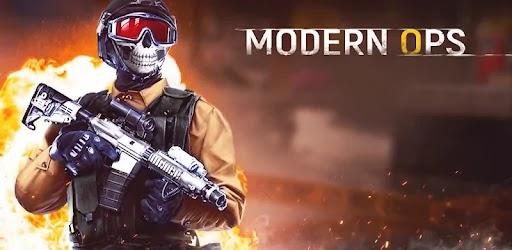 Modern Ops – Online FPS v3.96 Mod Apk Android