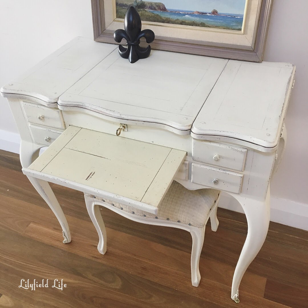 Vintage dressing table - Vintage French Style Dressing Table Lilyfield Life
