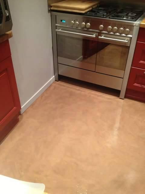Ceramic flooring forms