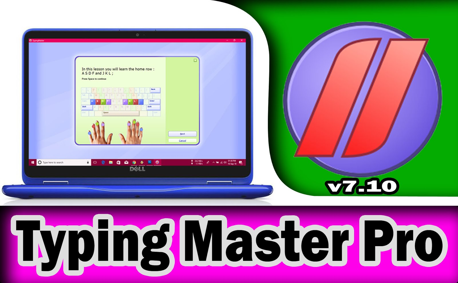 Typing master 10 pro crack + serial key with patch 2019 free.