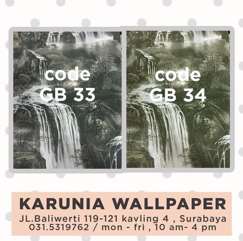 jual wallpaper dinding relief pemandangan