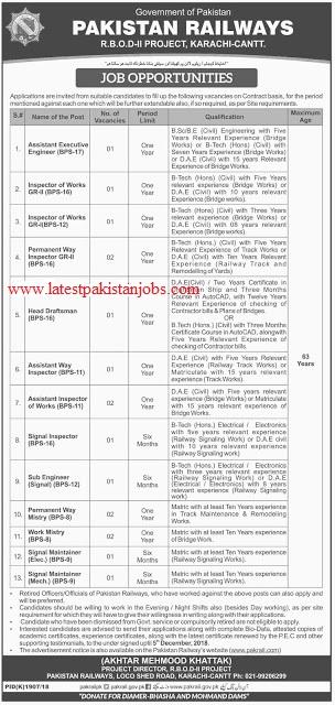 Latest Pakistan Jobs Railway