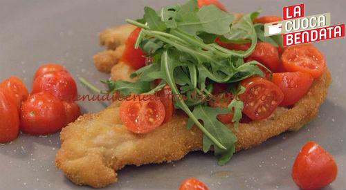 La Cuoca Bendata - Cotoletta alla milanese ricetta Parodi