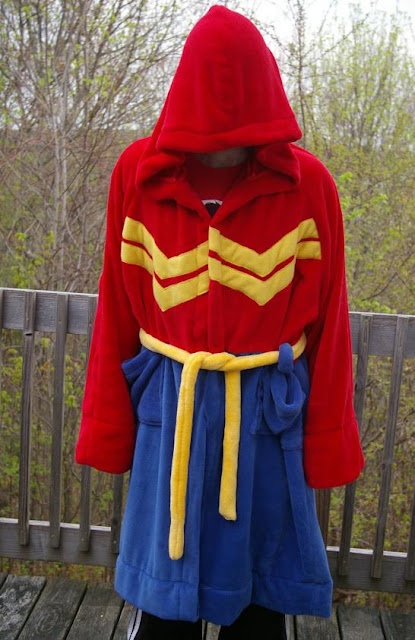 Wonder Woman Bathrobe